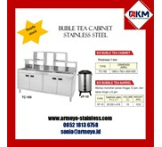 buble tea cabinet stainless steel