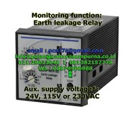Broyce Control Earth Leakage Relay ELRP48V-30 115Vac and 230VAC