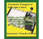 Automatic Changeover Switch 800 Amp 4 Pole SAD-800-4 Salzer