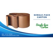 Single-Face Carton / Kertas Karton Gelombang