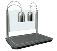 Hatco DCSB400-3624-2 Dual Lamp Decorative Carving Station