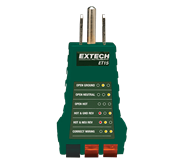 Extech ET15: Receptacle Tester integrated circuit