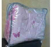 KANTONG / TAS BEDCOVER SINGLE TRANSPARAN MURAH