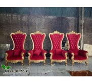 Sofa Set Ruang Tamu Klasik Throne