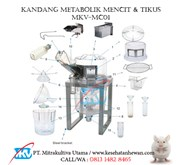 Kandang Metabolik MKV-MC01