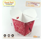 Paper Rice Box Food Pail