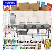 Timbangan Konveyor atau Conveyor Scale