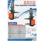 Harga Hand Stacker Electric/Semi/Manual Dalton ZDYC Murah