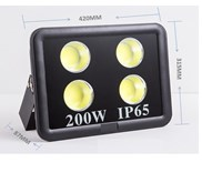 LED Flood Light 200W  (SW-FL1000-EC200W) - SUNWAY