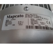 Mapcato Ring Blower 3 HP - 2,2 kw - 2900 rpm- 3 phase
