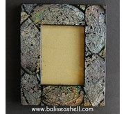 Frame Photo Seashell Art / Bingkai Foto Kerang