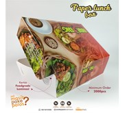 Paper Lunch Box Foodgrade Medium