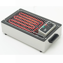 Roller Grill 140 Electric Lava Rocks Grill Pemanggang Barbeque