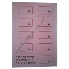 INLAY SMART CARD MIFARE 13.56 Mhz-1K