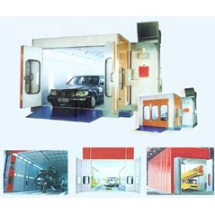 Oven Cat Mobil Body Repair Spray Booth System
