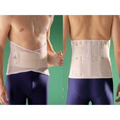 Sacro Lumbar Support With Silicone Pad
