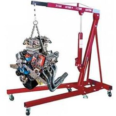 Engine Crane - Hydraulic Engine Shop Crane