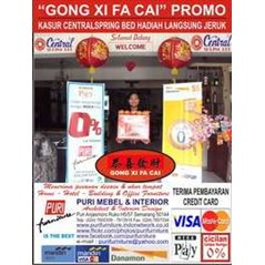 Gong Xi Fa Cai Promo Central Spring Bed