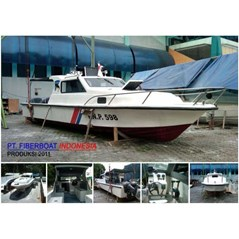 SPEED BOAT PATROLI SERI FBI-1026-XA