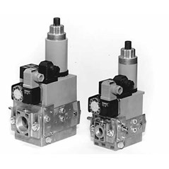 DUNGS GasMultiBloc Combined regulator and safety shut-off valves Two-stage function MB-ZRD( LE) 405 - 412 B01