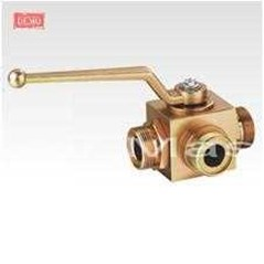 BALL VALVE 3 WAY TWO POSITION HIGH PRESSURE