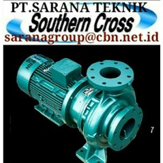 SOUTHERN CROSS PUMP CENTRIFUGAL PUMP ISO SOVEREIGN PT.SARANA TEKNIK