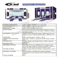 Jual Spraybooth Cat Oven Body Repaired Mobil Double Blower