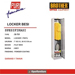 Locker Besi Brother B-701