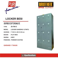 Locker Besi Brother B-704-3