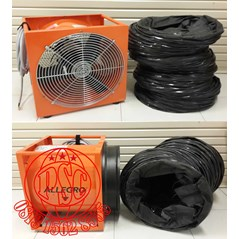 """Blower 16"""" Explosion-Proof High Output Allegro Safety"""