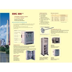 flue gas analyzer SWG 300-i COMPLETE CEM SYSTEM / EMISSIONS MONITORING