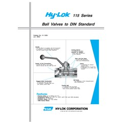 Hy Lok 115 Series Ball Valves -2