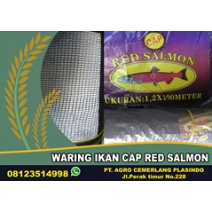 Jaring Ikan Cap Red Salmon