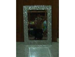 Jual Mother of pearl mirror frame