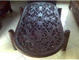 Kalimantan Oval Coffee Table