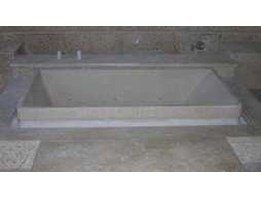 Resin terazzo bath tub