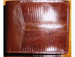 Wallet made from Lizard, code RWG 077