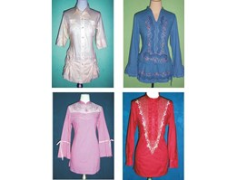 BLOUSE cotton EMBRODERY