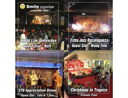 Jual Event Concept, Gathering, Exhebition, Launching Product, Gala Dinner, Marketing Communication, Printing Material, Outdoor Material, Print Ad