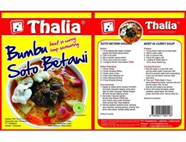BUMBU INSTANT, INDONESIAN INSTANT SEASONING