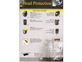 Jual HEAD PROTECTION : WELDING HELMET ( SWH - 610, SWH - 618, SWH - 622, SWH - 613, SWH - 637, SWH - 623, PFC - 83 SIZE 8 x 15.5, SI - 1, SPL - 020