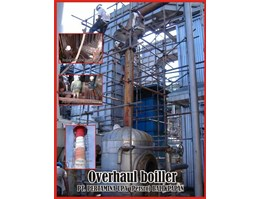 Jual Overhaul / Retubing Tube Boiller, Chemical Cleaning