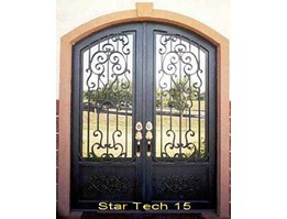 Wrought Iron Doors (Star Tech 15)