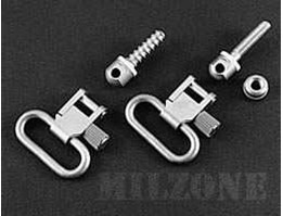 Uncle Mike s_ QD Super Swivel, nickel-plated [ Out of Stock]
