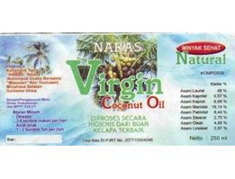 Jual VCO / Virgin Coconut Oil