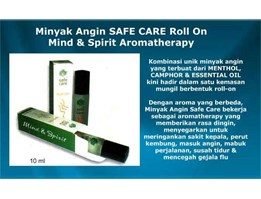Minyak Angin Safe Care Roll On Aromateraphy
