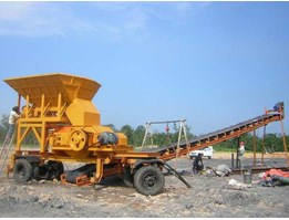 Mobile Roll Crusher