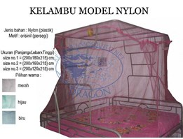 Kelambu Dragon Model Nylon