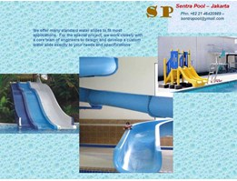 Jual Water Boom - Water Slide - Water Game