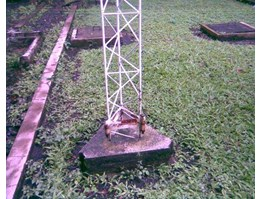 Tower 3 angle Besi aser